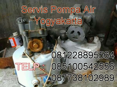 servis pompa air