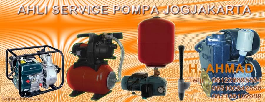 service pompa jogja