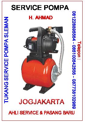 tukang servis pompa air bantul