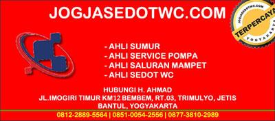 spesialis servis pompa air Yogyakarta