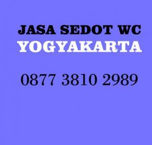 beaya sedot wc Yogyakarta