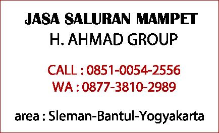 saluran mampet Yogyakarta