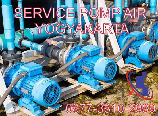 service pompa air jogja